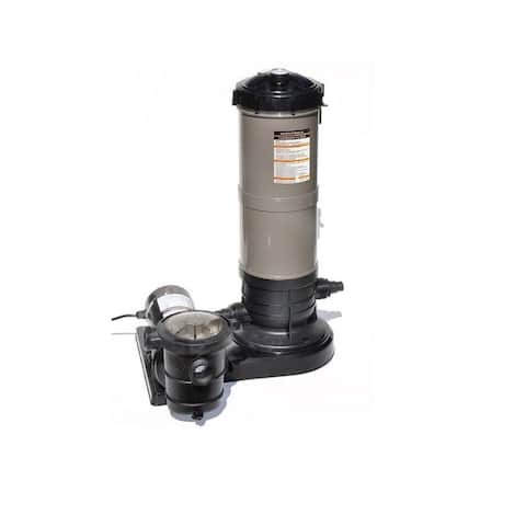 Cleaner Cartridge Filter Combo - 1.5 Hp 39 Sq.Ft