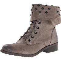 Fergie Womens Mercury Leather Closed Toe Ankle Fashion Boots