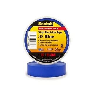 3M 10836-DL-10 Scotch 35 Electrical Tape - Blue Elc Tape