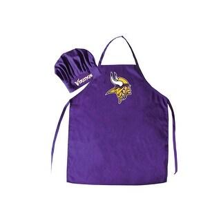 NFL Minnesota Vikings Apron and Chef Hat