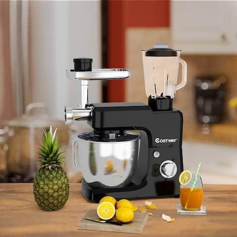 3 in 1 Stand Mixer 800W 6-Speed Tilt-Head Food Mixer