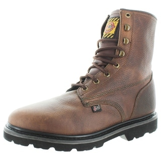 "Justin Originals 8"" Lace-Up Leather Work Boots"