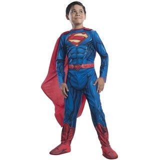 Rubies Classic Superman Child Costume - Blue