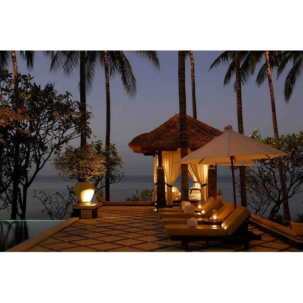 LED Lighted Tiki Hut Relaxation Scene Canvas Wall Art 15.75  x 23.75   sc 1 st  Overstock & Shop LED Lighted Tiki Hut Relaxation Scene Canvas Wall Art 15.75