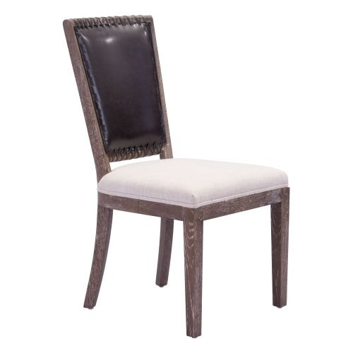Zuo Modern Market Dining Chair Market Oak Dining Chair (Package of 2)
