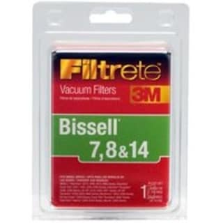 Filtrete 66878A-4 Vacuum Cleaner Filter, Bissell 7 8 & 14