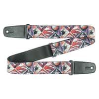 DC Comics New 52 Superman Shield/Silhouette/Pose Geometric Guitar Strap