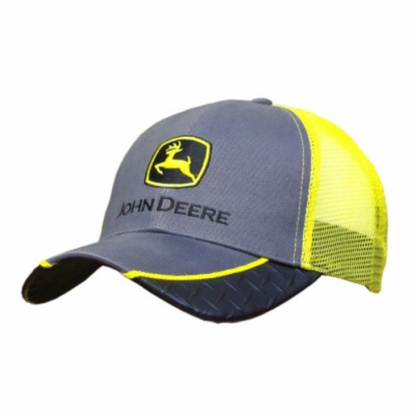 Shop John Deere 13080226YW00 Mens Mesh Back w  Diamond Plate Cap ... 57900b7a740