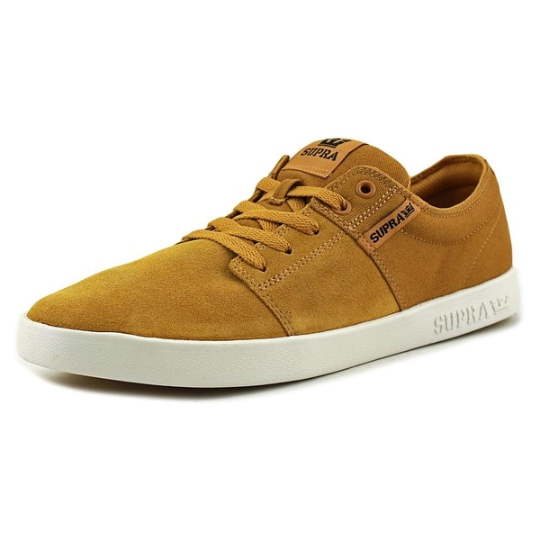 Supra Stacks II Men Amber Gold-White Skateboarding Shoes