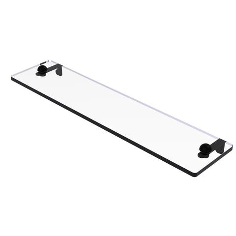 Allied Brass Glass Vanity Shelf with Beveled Edges