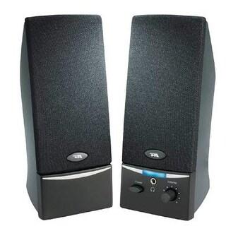 Cyber Acoustics - Ca-2012Rb - 2.0 Black Stereo Speaker