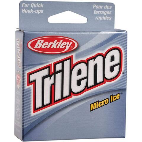 Berkley Trilene Micro Ice Fishing Line (110 yds) - Clear Steel - 2 lb. Test