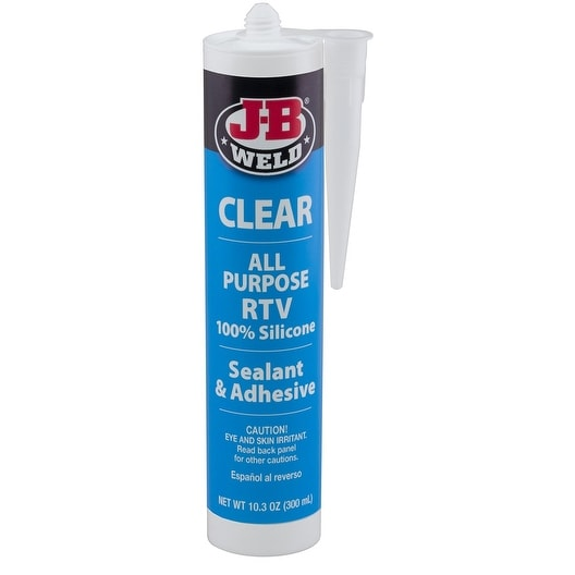 J-B Weld 31910 All-Purpose RTV Silicone Sealant and Adhesive, 10.3 oz