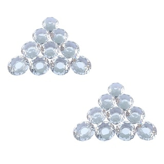 Link to Clear Glass Cabinet Knobs 1.8 Inch Projection Mushroom 20 pcs Similar Items in Hardware