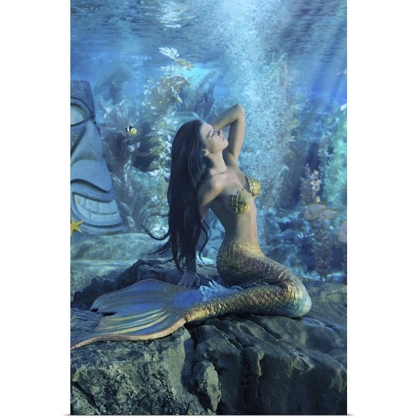"""Mermaid"" Poster Print"