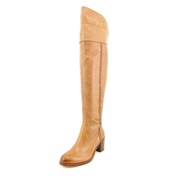 baa16c5c5bb Shop Sam Edelman Joplin Round Toe Leather Over the Knee Boot - Free ...
