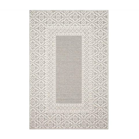 Alexander Home Denise Collection Contemporary Indoor/ Outdoor Area Rug