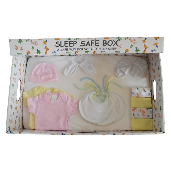 Girl 16 Piece Baby Starter Set Box - Size - Newborn - Girl