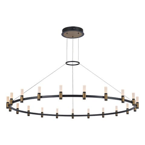 Eurofase Albany 1 Light Integrated LED Chandelier