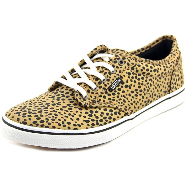Vans Atwood Low DX Women  Round Toe Canvas Yellow Sneakers