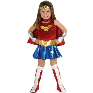 Rubies Wonder Woman Toddler Costume - Red/blue