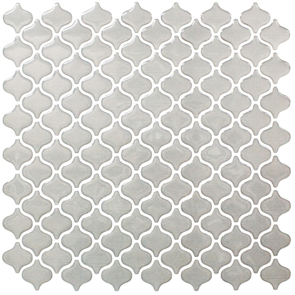 BeausTile Decorative Cairo 4-piece Decorative Adhesive Faux Tile Sheets