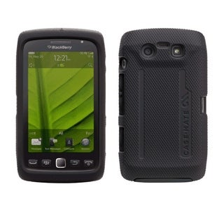 Case-Mate Tough Hybrid Case Hard for BlackBerry Torch 9860, 9850 - Black/Black
