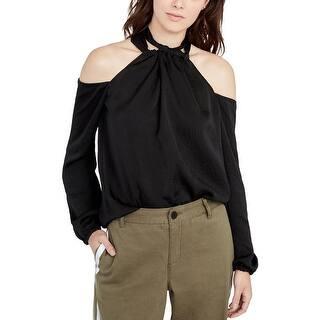 ef002ab4598dce Rachel Rachel Roy Womens Blouse Satin Cold Shoulder