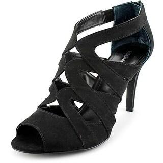 Style & Co Uliana Women  Open Toe Synthetic Black Sandals