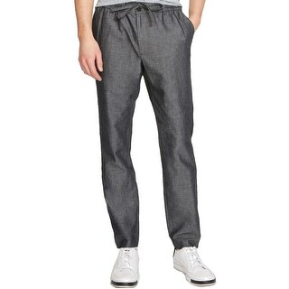 Kenneth Cole Reaction Mens Dress Pants Heathered Drawstring