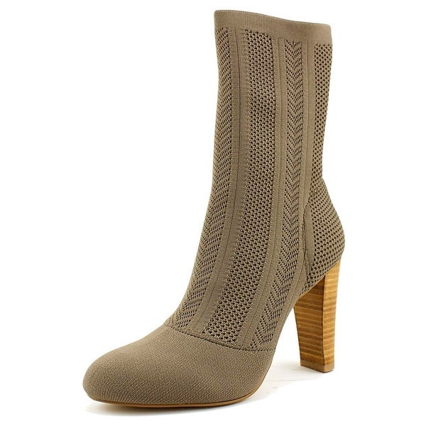 Charles By Charles David Shirley Women Round Toe Canvas Ankle Boot