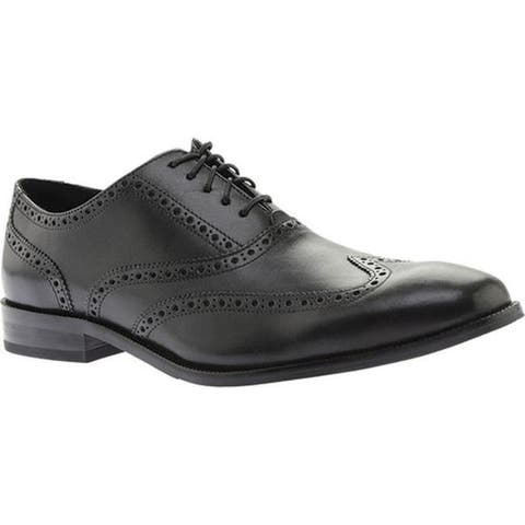 29f7cacc1d0 Cole Haan Men s Williams Wing II Oxford Black Leather