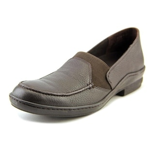 David Tate Stretchy   Round Toe Leather  Loafer