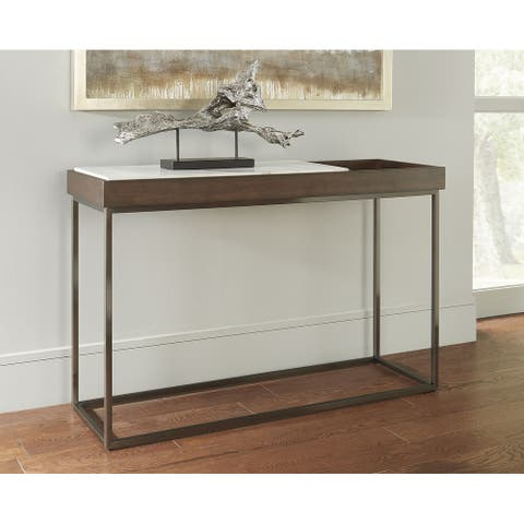 Ennis Jazz Marble Console Table