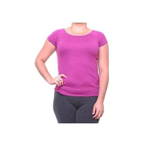 RALPH LAUREN Womens Purple Sweater Size XL