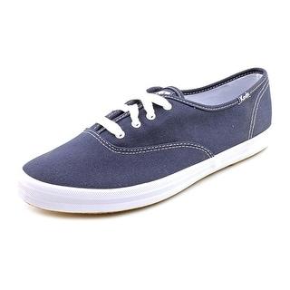 Keds Champion Oxford Women WW Canvas Blue Fashion Sneakers