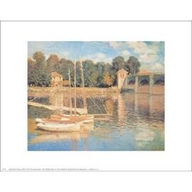 ''Il Pont d'Argenteuil'' by Claude Monet Coastal Art Print (11 x 14 in.)