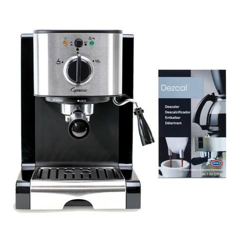 Capresso EC100 Pump Espresso Machine (Black) Bundle (Refurbished)
