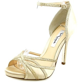 Nina Kerstin Women Open Toe Canvas Sandals