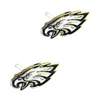 Philadelphia Eagles Post Stud Logo Earring Set Charm Gift NFL