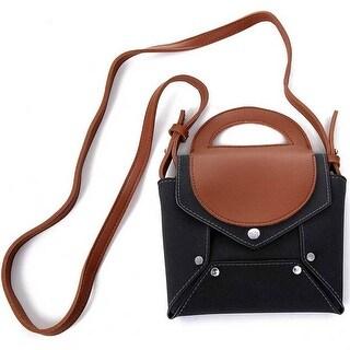 Mad Style Black Envelope Crossbody Bag