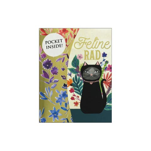 Molly & Rex Mini Portfolio Pocket Pad Feline Rad