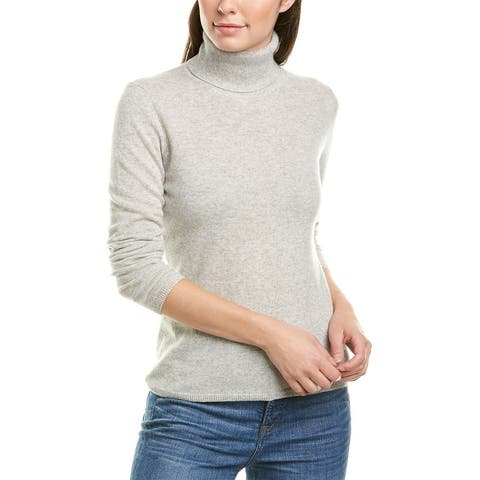 Incashmere Cashmere Sweater - HTR FOG