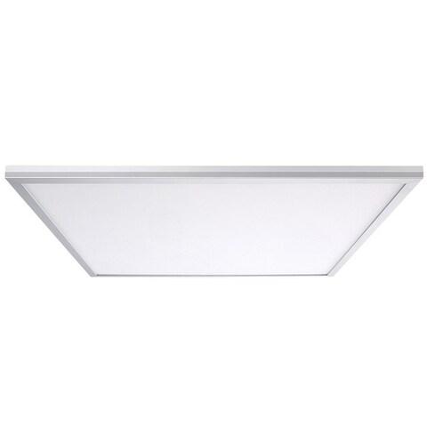 Leviton SKT22-0CW Skytile LED Ceiling Fixture, Aluminum, White