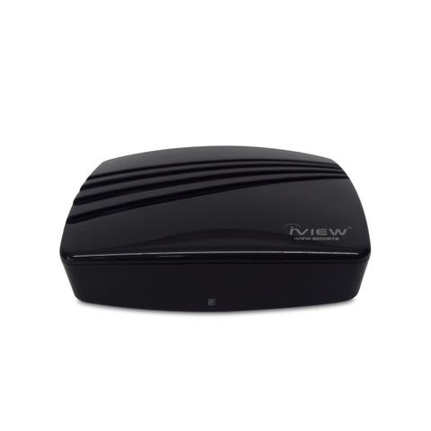 IVIEW-3200STB Multimedia Converter Box. Digital to Analog, QAM tuner, with Recording function