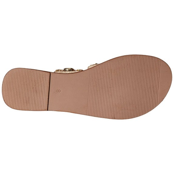 MIA Womens Belissa Open Toe Casual Slide Sandals