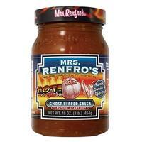 Mrs. Renfro's Ghost Pepper Salsa - Pepper - Case of 6 - 16 oz.
