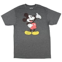 Disney Mickey Mouse Wave Men's Adult Graphic Tee T-Shirt