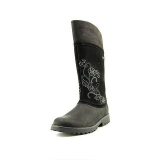 Clarks Rhea Jane Gtx J Round Toe Leather Boot