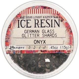 Ice Resin Glass Glitter Shards-Onyx